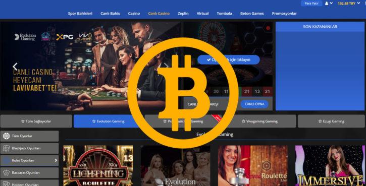 lavivabet ile bitcoin çekim yapmak