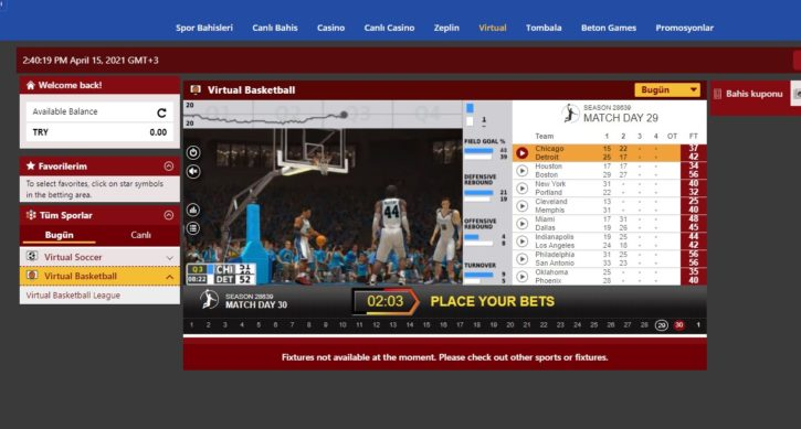lavivabet sanal basketbol